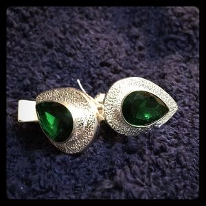 NWT Chrome Diopside Cuff Links
